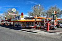 Delgadillo's Snow Cap Drive-In ~ Seligman, Arizona ~ Route 66