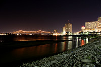 New Orleans RiverFront Night View
