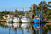 Shrimp Boats in Apalachicola