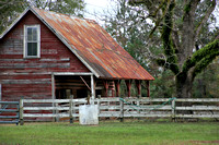 A Red Barn with a Tin Roof