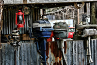 Outboards in the Shed